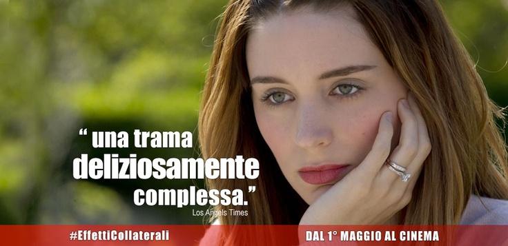 #EffettiCollaterali - #RooneyMara interpreta Emily Taylor nel thriller diretto dal premio Oscar #StevenSoderbergh. Dal 1° Maggio #Alcinema