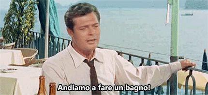 """haidaspicciare: """" Marcello Mastroianni, """"Racconti d'estate"""" (Gianni Franciolini, 1958). """""""