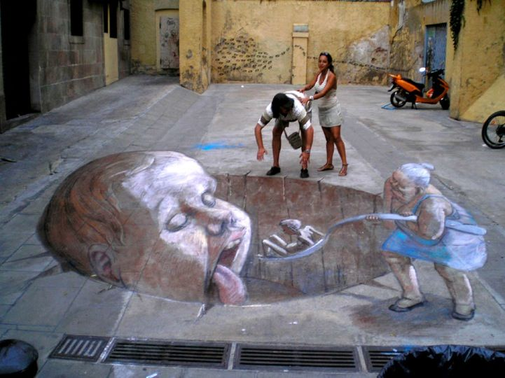 Best Sidewalk Art Images On Pinterest D Street Art D - 17 amazing works of 3d street art