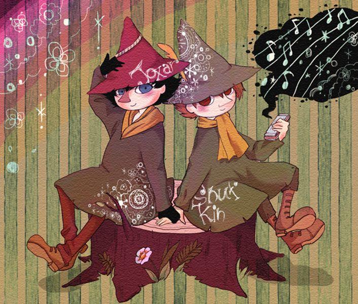 Tags: Fanart, Pixiv, Moomin, Snufkin, The Joxter