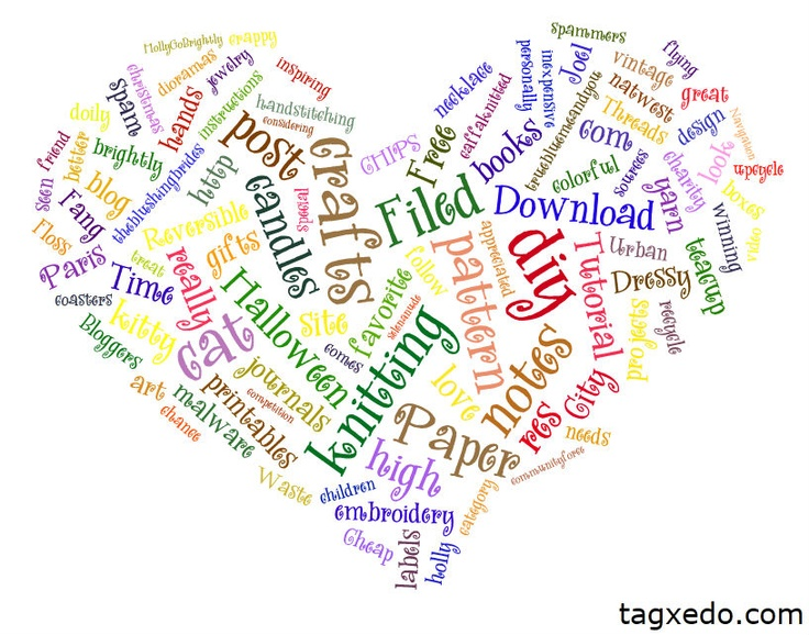 Tagxedo Creato. So cool. Make a Tagxedo out of your blogs, other websites, tweets, tags, do a word search like Halloween or Christmas and then create shapes with those words. You can choose from tons of shapes, color palettes, whether your words are randomly placed or all vertical or horizontal. Lots of cool fonts to choose from. I spent way too much time at this site making mine from my tumblr blog URL. #diy #graphics #art #typography #crafts #tagxedo