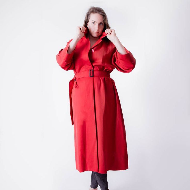 Just listed this classic Burberry trench coat!