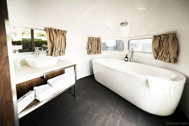 Airstream hotal room