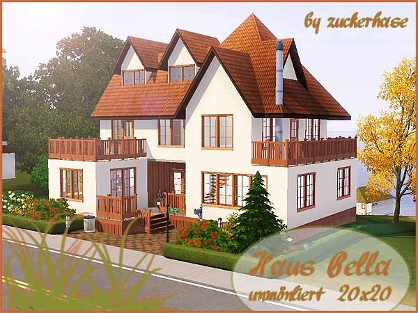 Bella House By Zucherhase   Sims 3 Downloads CC Caboodle