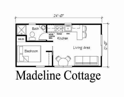 Image Result For 12 X 24 Cabin Floor Plans