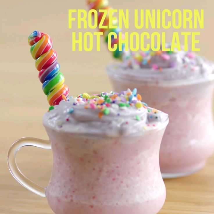 Frozen Unicron Hot Chocolate