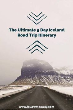 The Ultimate 5 Day Iceland Road Trip Itinerary. Enjoy your Icelandic road trip (even in winter) with this itinerary that will let you see all that Iceland has to offer.