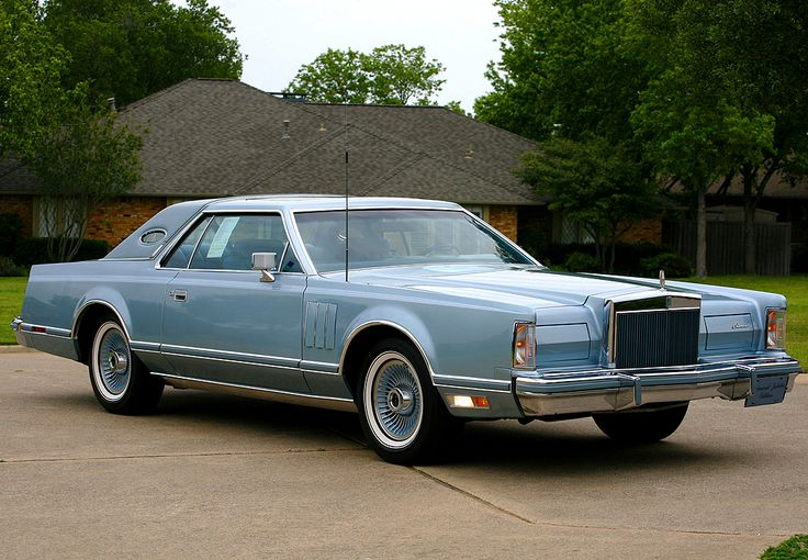 1978 Continental Mark V Diamond Jubilee Edition Offered