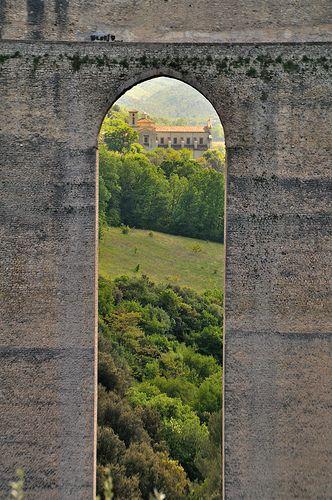 Ponte dell Torri (13th Century AD), Spoleto, Italy