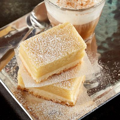 Tender shortbread crust with a gooey butter topping make for a decadent treat.