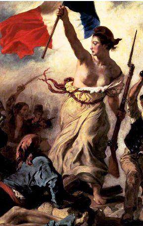 LA LIBERTE GUIDANT LE PEUPLE - Eugène Delacroix