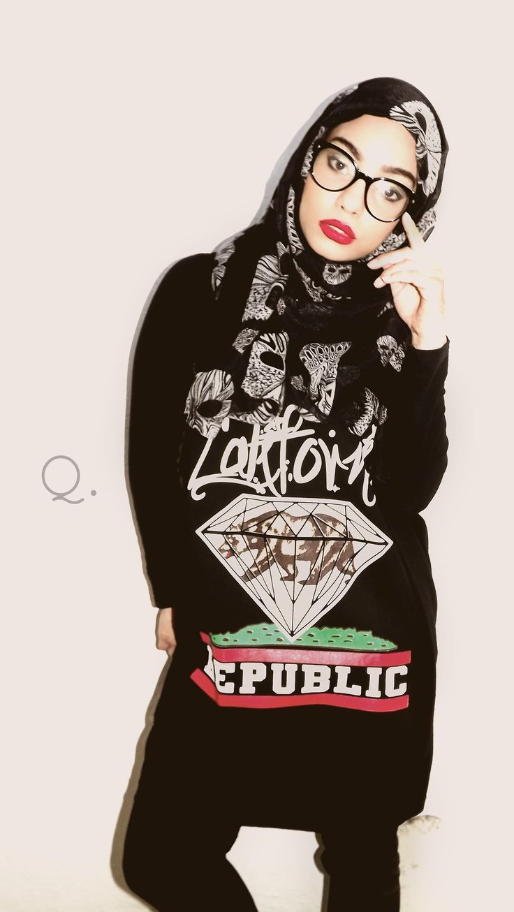 hijab swag style outfits (1)