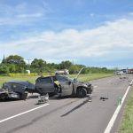 Muere Motociclista al chocar contra un acoplado de Camioneta en luctuoso accidente