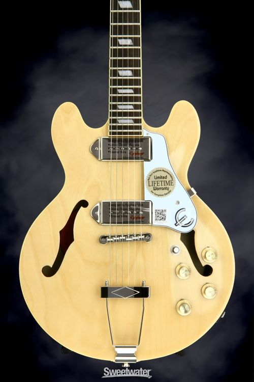 Epiphone Casino Coupe - Natural | Sweetwater.com