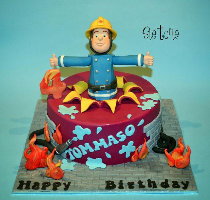 torta sam il pompiere - Cerca con Google