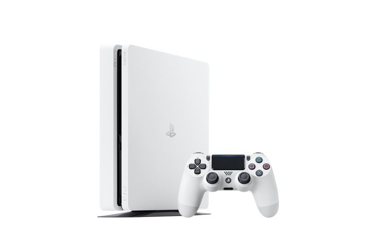 The PS4 Slim Getting Glacier White Version In Europe And Japan