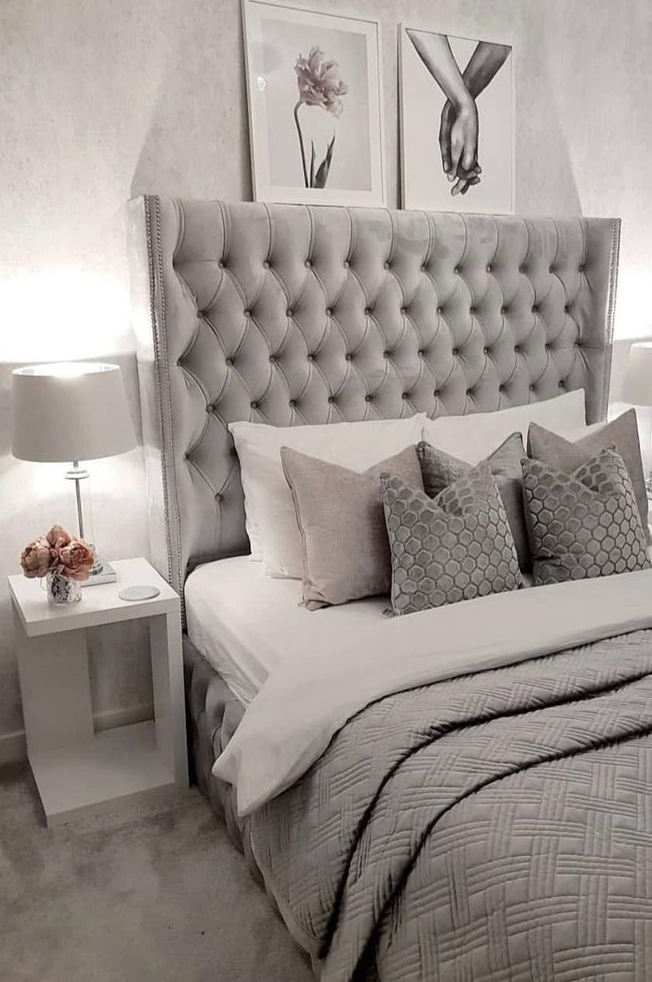11+ Cute and Modern  Modern bedroom interior, Grey bedroom decor