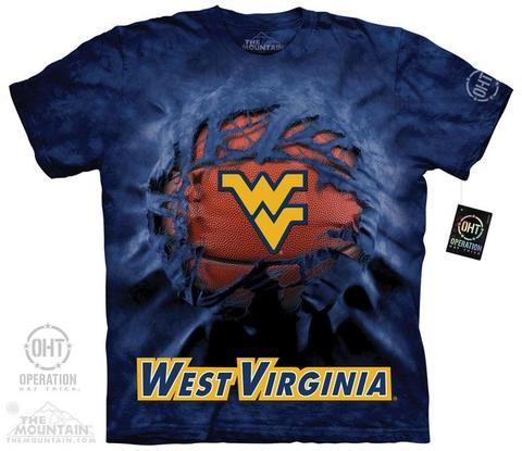 WVU Basketball - Large