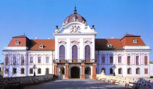 """About 20 miles from Budapest is the Royal Palace of Gödöllő, once the summer home of Emperor Franz Josef and his wife Elisabeth (""""Sisi"""")"""