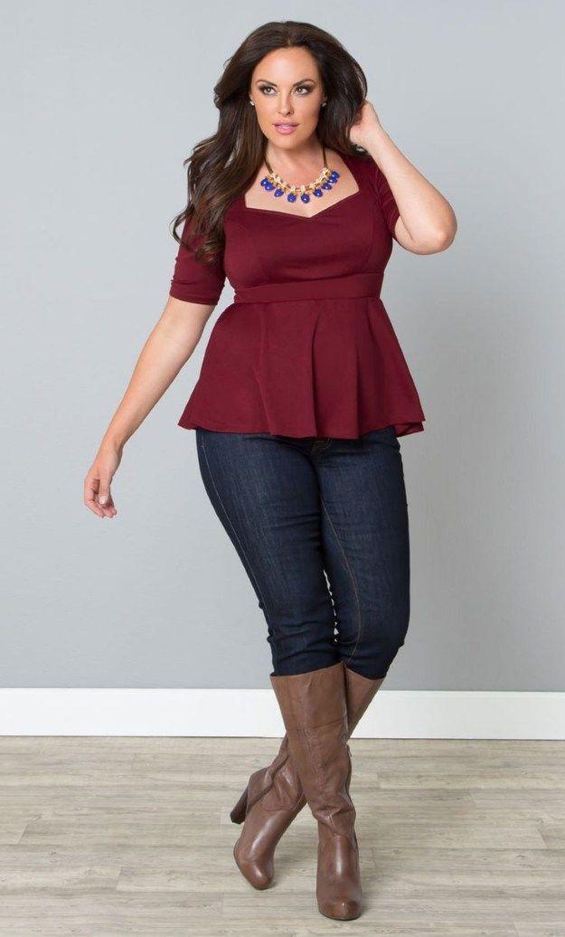 10 Amazing Plus Size Fashion Tips For Women  Plus Size -4183