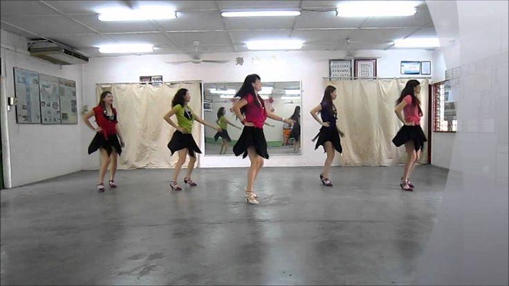 Muevelo Cha Cha line dance (20/8/2012) by Ayu Perm