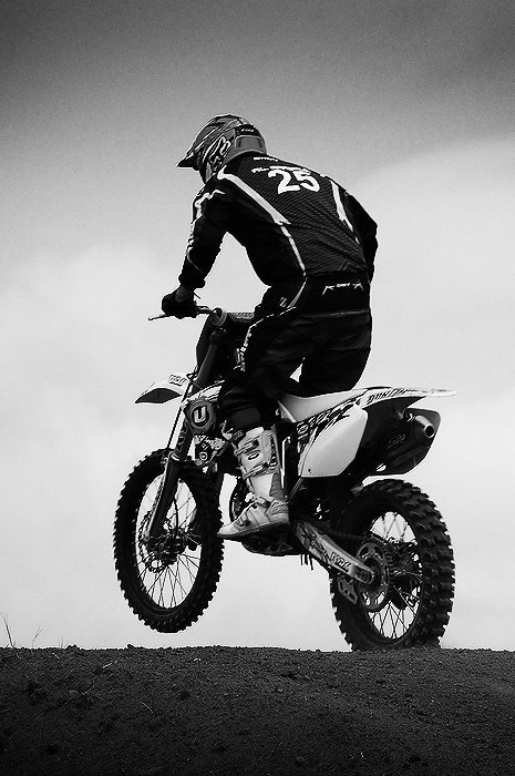 something sexy about a guy who rides dirtbikes..