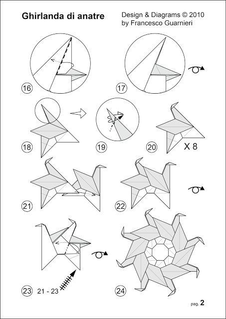 10  images about origami mandalas  estrelas e tea bag