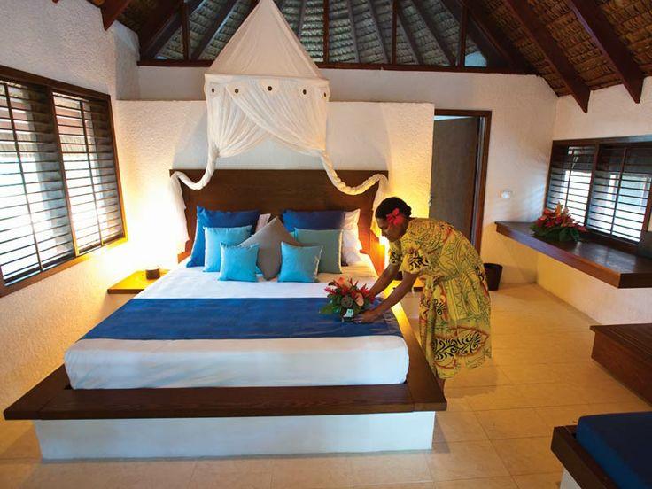 Fare interior at Breakas Beach Resort, Vanuatu  www.islandescapes.com.au