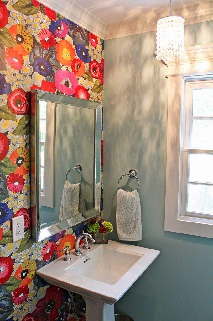 Casinha colorida: Banheiros e lavabos muito especiais