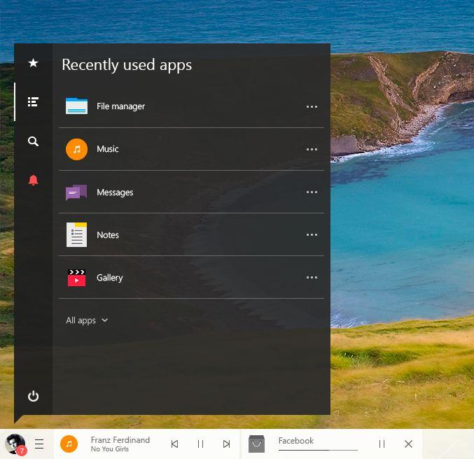 Qubic 3 Preview: New Taskbar + Start Menu + Icons by lukeled.deviantart.com on @DeviantArt