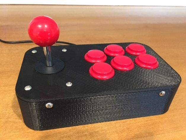 Build your own classic arcade game controller! Perfect for a retro arcade game console such as RetroPie. There are a number of arcade joystick…
