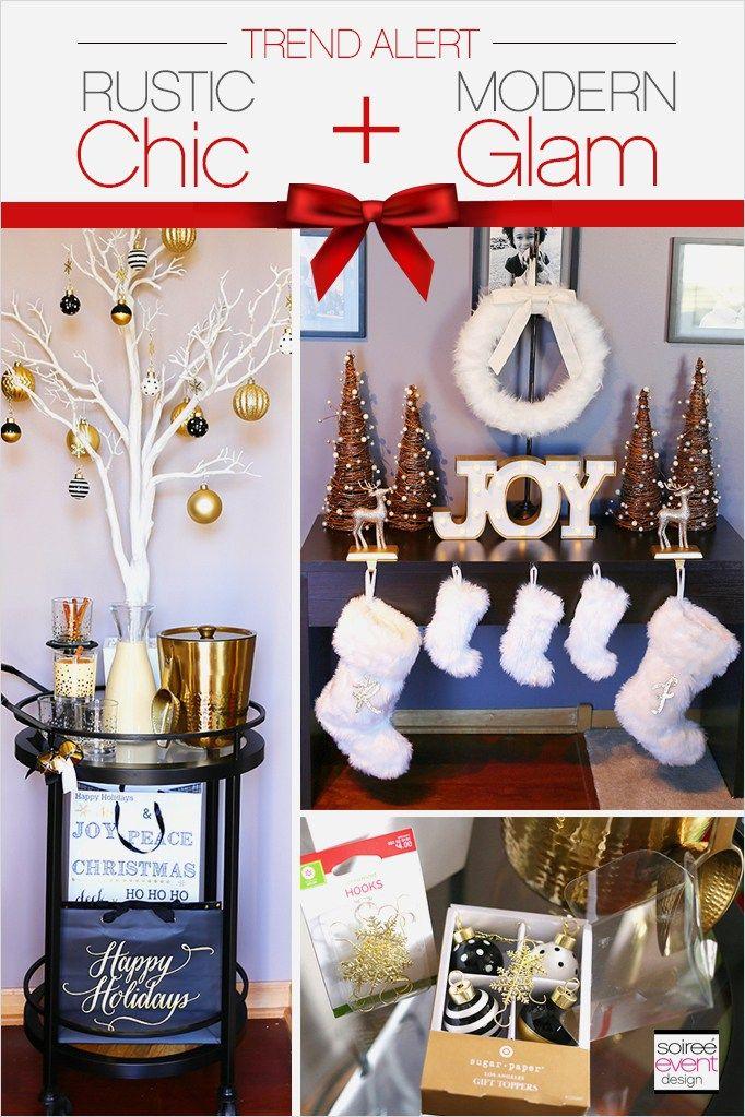 42 Beautiful Rustic Chic Christmas Decoration Ideas Decorating