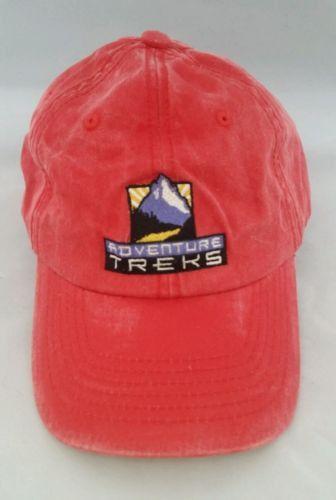 Adventure Treks stonewashed baseball cap hitwear velcro back osfm