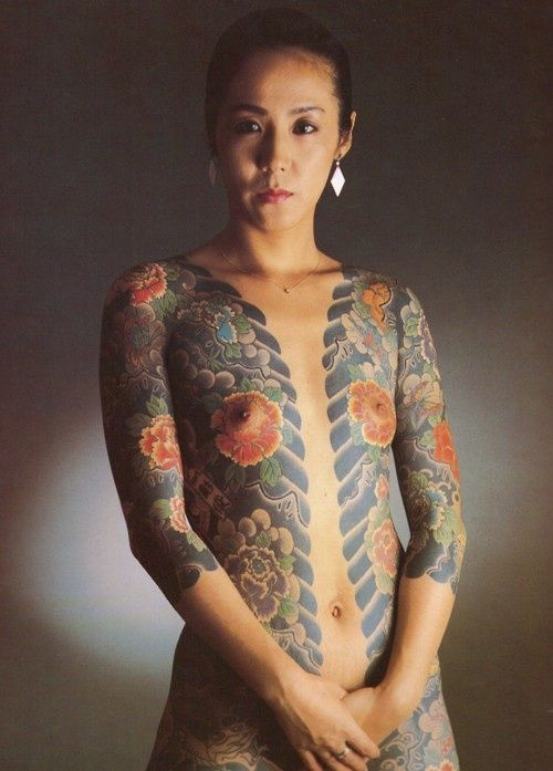Tattoos On Nude Women 20
