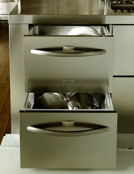 Drawer dishwashers make so much sense to me - plus Kenmore has one of the most energy efficient ones.