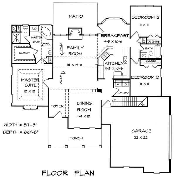 17 best images about floor plans under 1800 sq ft on for 1800 sq ft craftsman style house plans