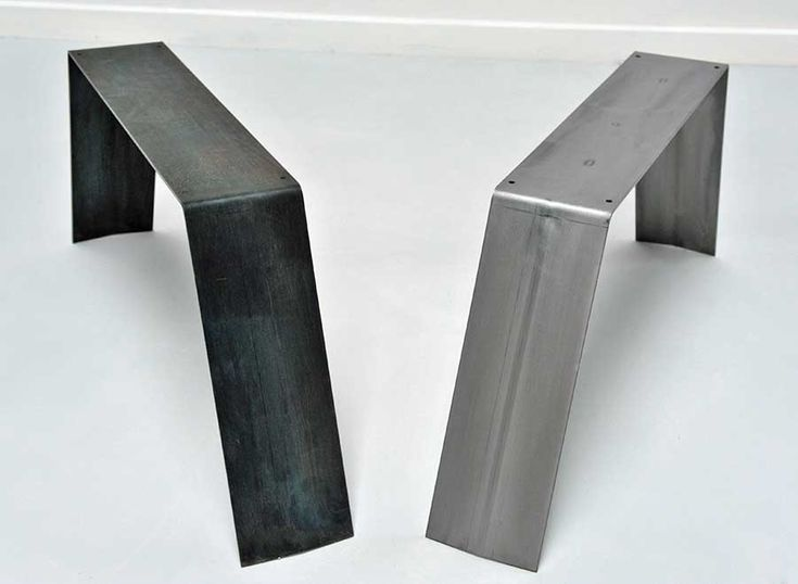 Pied De Table En Metal