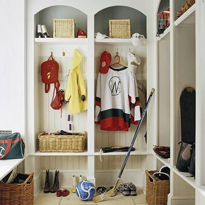 I'm looking for something to utilize the corner area of my mudroom - thinking about this.