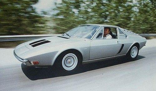 Porsche 914 - styled by Frua,