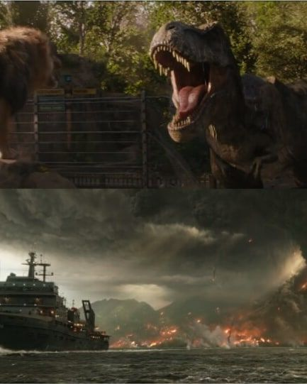 Jurassic World Blue And Rexy Fallen Kingdom Ver By: New Footage From Tv-sports 1 And 2 Where We Can See THE