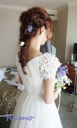 「 とっても可愛い花嫁さまのこだわりお洒落Wedding♡♡ 」の画像 大人可愛いブライダルヘアメイク『tiamo』の結婚カタログ Ameba (アメーバ)