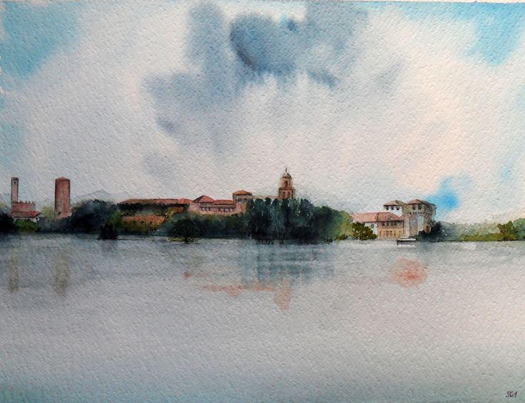 Mantova, acquerello