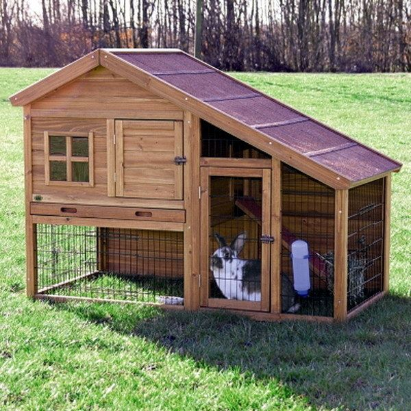 Outside House for Future BunBun for when its nice for her to go outside while we are working in the gardens.