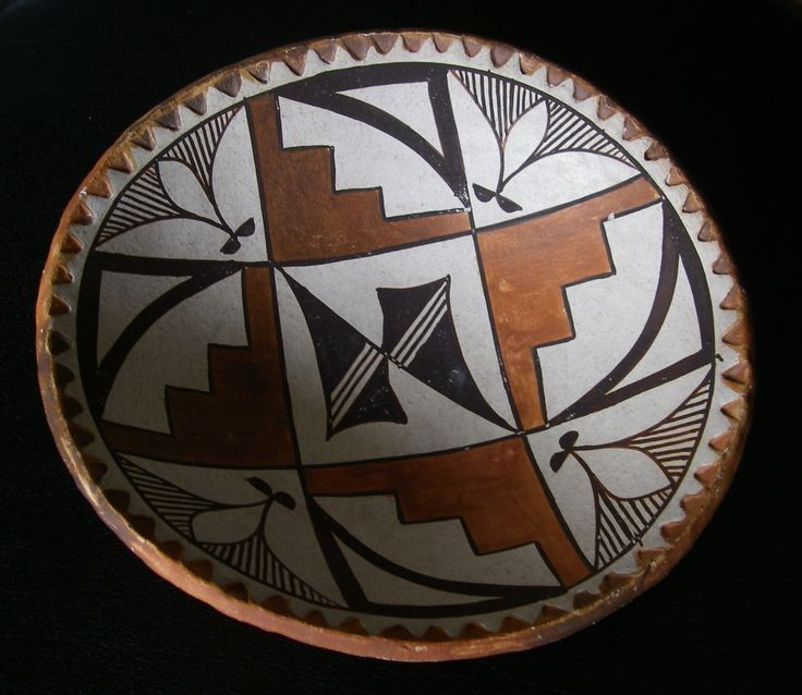 Vintage Southwestern Red Clay Pottery Bowl, Southwestern Art, Vintage Pottery, Native American Look Home Decor by tnjsvintagetreasures on Etsy https://www.etsy.com/listing/192328633/vintage-southwestern-red-clay-pottery