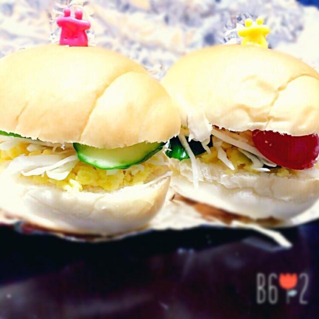 今日は手抜きのサンドイッチ  わさびマヨでいただきます! - 15件のもぐもぐ - 明日のお弁当0416 by てん
