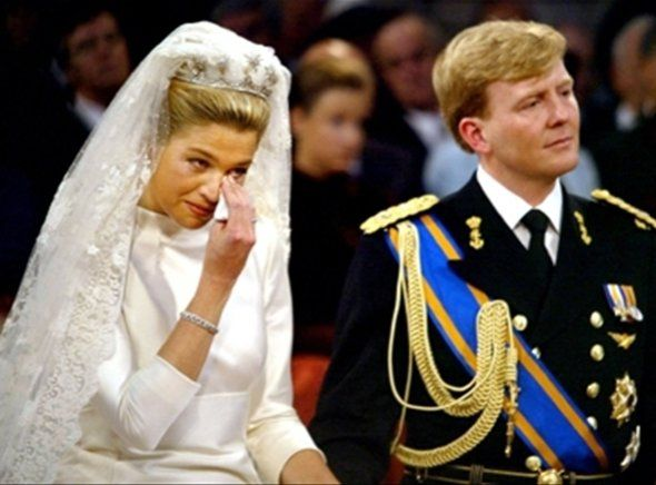 Crown Prince Willem-Alexander and Crown Princess Maxima