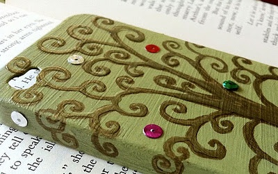 Cell phone cover with modge podge: Books Covers, Iphone Cases, Cell Phones Cases, Idea, Mod Podge, Trees Of Life, Cell Phones Covers, Phone Covers, I Phones Covers