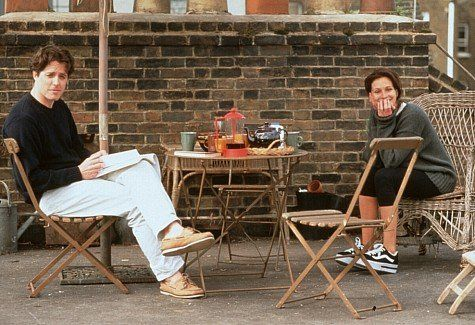 Still of Julia Roberts and Hugh Grant in Coup de foudre à Notting Hill