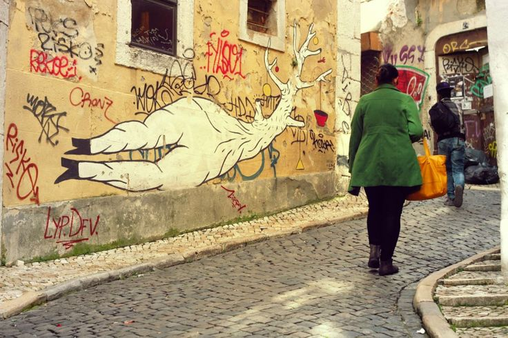 #StreetStyle #BarrioAlto  Postcards from Lisbon | postcardsfromanywhere