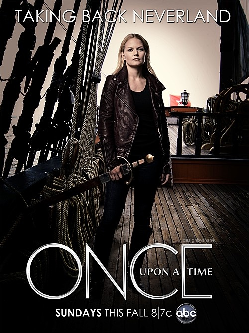 Once Upon A Time Season 3 Poster Emma Fan made season 3 post...